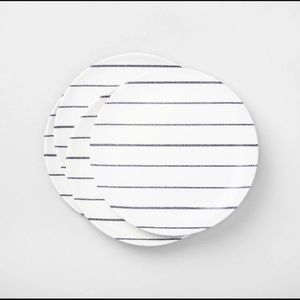 HEARTH AND HAND Magnolia Striped Dinner Plates